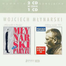 Wojciech Mlynarski - Mlynarski w Paryzu / Robmy swoje '95 (CD 2 disc)  NEW