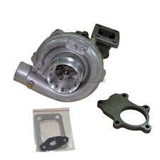 New!!!  T3 T04E Turbocharger A/R .50 .63 Turbo Charger + 5 Bolt Downpipe Flange