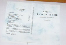 Godey's Lady's Book - November 1859 - Reprint Fashion Monthly