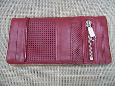 MIMCO LUNAR LEATHER WALLET  IN POMEGRANATE BNWT RRP$169