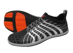 Zemgear Minimalist Shoes- 2Cinch Round Black/Silver - Multiple Sizes - New
