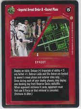 STAR WARS CCG CORUSCANT Imperial Arrest Order & Secret