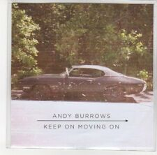 (DL719) Andy Burrows, Keep On Moving On - 2012 DJ CD
