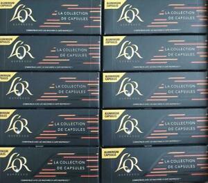 150 x L'or Espresso Mixed La Collection De Aluminium Capsules BB 22/06/2020