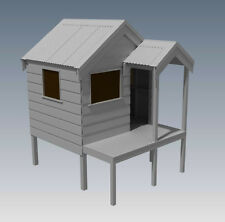 CUBBY HOUSE - PLAY HOUSE - Build One With Your Children - Full Building Plans V2