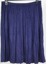 Purple Pleated, Kilt Skirts for Women
