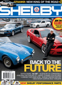 2007 Shelby Annual Magazine + FREE three Shelby American Decal Set ! GREAT DEAL!