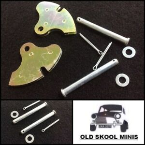 CLASSIC MINI HANDBRAKE QUADRANT & CLEVIS PIN KIT 21A2454 CLZ549 DRY REAR 6A2