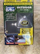 Sensor Brite Outdoor - Motion Sensor LED Flood Light, 2 Pack(As Seen On TV)