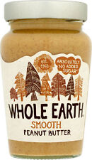 Whole Earth Smooth Peanut Butter No Added Sugar 454g