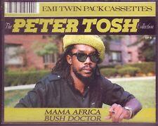 RARE Peter Tosh EMI Twin Pack Australian cassette
