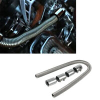 Universal Car Stainless Steel Flexible Radiator Hose Kit with Clamps 48''
