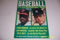 1967 Baseball Illustrated NEW YORK Yankees MICKEY MANTLE Orioles Frank ROBINSON