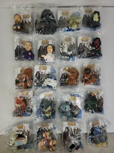 Lot of 20 Star Wars III Burger King Toys 2005 Revenge of the Sith No Duplicates