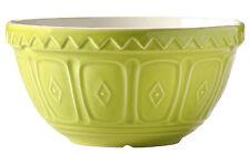 Mason Cash S30 Green Mixing Bowl 21cm Large Ceramic Salad Bowl