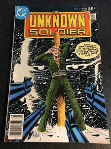 Unknown Soldier#212 Awesome Condition 5.0(1978) Joe Kubert Execution Cover!!