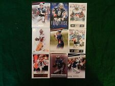 LOT OF NINE (9) ALL DIFFERENT *NFL SUPERSTARS* CARDS BRADY, MANNING, more!