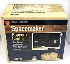 Vintage Black & Decker Under Cabinet Spacemaker Popcorn Center SCP100 New In Box