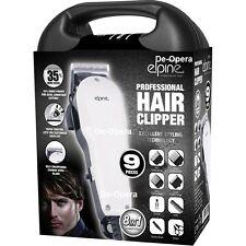 9PC Cortadora De Cabello Profesional Para Hombres Grooming Kit de afeitado 8 en 1