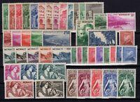 AJ140433/ MONACO / LOT 1938 - 1941 MINT MH - CV 130 $