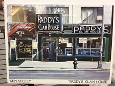 """PADDY'S CLAM HOUSE""  BY KEN KEELEY FROM 1985  VINTAGE  POSTER"