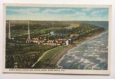FL Postcard Miami Beach Florida North Beach Casino and Indian Creek waterfront