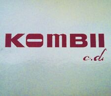 KOMBII - C.D. - 2 CD + DVD, 2006 - DELUXE COLLECTOR'S EDITION