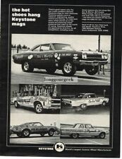 1968 Keystone Custom Mag Wheels Sox & Martin Dragster others Vintage Ad