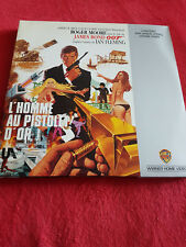 "LASER DISC  "" JAMES BOND 007 - L'HOMME AU PISTOLET D'OR """