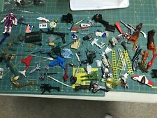 Lot of Weapons parts accessories for 2000's Toys Power Rangers Transformers More