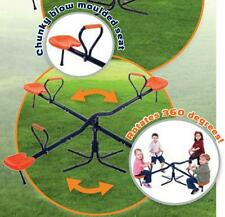 Hedstrom M0884 Roundabout 360 Rotation Seesaw Childrens Home Playground Toy New