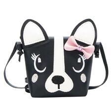 Women Bag Cute Dog Children Handbag Girl Shoulder Bag Baby PU Leather Cross G6N6
