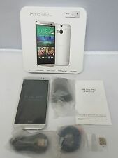 HTC One M8 - 32GB - Silver - 3G 4G- Dual Camera (Factory Unlocked)