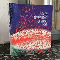 Catálogo II 2e Salón Internacional de La Vidrio Carta Nimes 1989