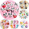 10pcs Flatback Resin Cute Various Animal Cabochons Scrapbooking Craft DIY
