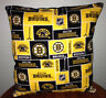 Bruins Pillow Boston Bruins Pillow NHL Handmade in USA