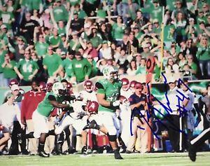 Devon Johnson Marshall Thundering Herd RIP Signed 8x10 Autographed Photo COA N2