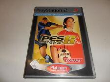 PlayStation 2 PS 2 pro evolution soccer 6 [Platinum]