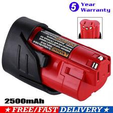 4x For Milwaukee 48-11-2440 M12 12V Lithium Extended Capacity Battery Pack 4.0Ah