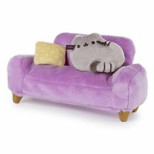 GUND Pusheen at Home Plush and Pink Couch Collector Set of 2