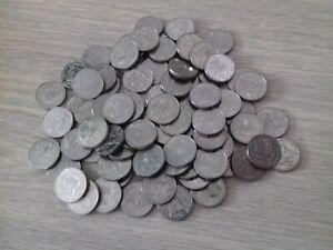Lot de 100 monnaies de 10 Francs Jiménez 1986