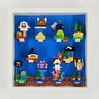Display case Frame for Lego Super Mario Series minifigures no figures 27cm