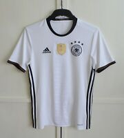 Germany National Team 2015/2016/2017 Home Football Shirt Jersey Adidas Size S