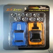 Zip Zaps Micro RC Body Kit 2 Fast 2 Furious 70 Dodge Challenger 69 Camaro Yenko