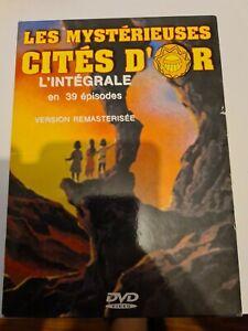 Les Mystérieuses Cités D'or L'intégrale en 4 DVD