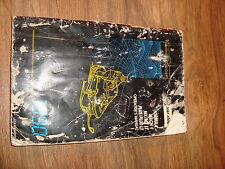 Ski Doo Operators Manual Mach 1 MX LT Plus 1990