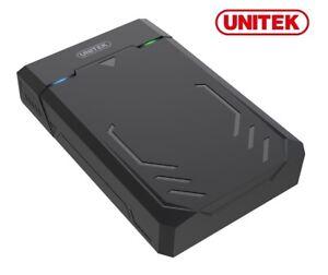 "New Unitek Y-3035 3.5"" USB 3.1 to SATA SSD HDD External Case Enclosure (Tooless)"