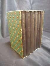 Complete Jane Austen boxed book set, 6 volumes, Pantheon Books, vintage, circa..