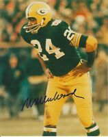Willie Wood Green Bay Packers signed 8x10 photo