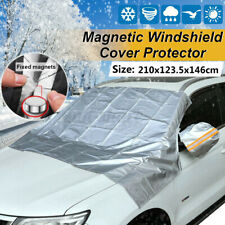 Universal Car Magnet Windscreen Cover Mirror Protector Anti-UV Snow Freeze  #